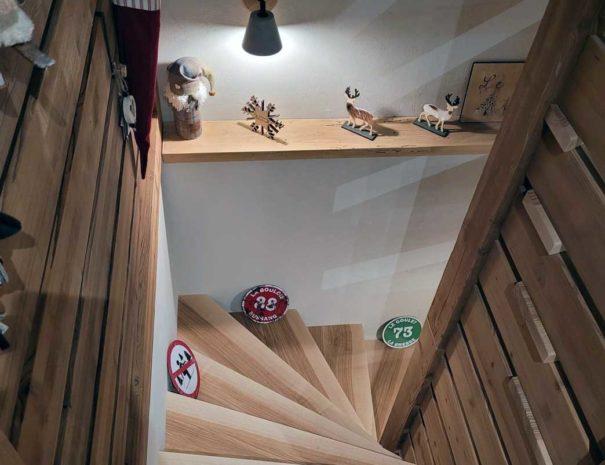 escalier3-chalet-milien